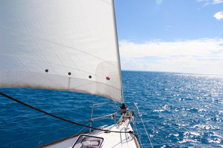 Sailing Huahine